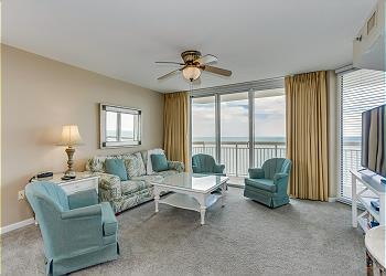 Crescent Shores N - 1601 - Oceanfront - Crescent Beach Section, a 4 bedroom, 3.0 bathroom vacation rental located in North Myrtle Beach, SC