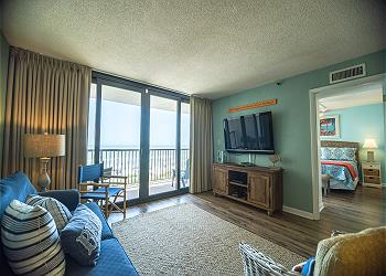 Sea Winds 407 - Oceanfront - Windy Hill Section, a Vacation Rental in Myrtle Beach