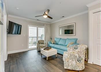 Marsh Villas Q-1 - 2nd Row Marsh View - Cherry Grove Section, a 2 bedroom, 2.0 bathroom vacation rental located in North Myrtle Beach, SC