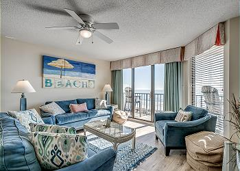 Beach Club II 3A - Oceanfront - Windy Hill Section, a Vacation Rental in Myrtle Beach