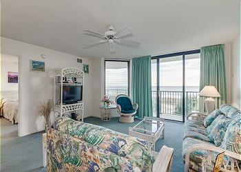 Beach Club III 2C - Oceanfront - Windy Hill Section, a Vacation Rental in Myrtle Beach