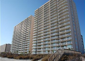 Crescent Shores N - 1001 - Ocean Front-Crescent Beach Section, a Vacation Rental in Myrtle Beach