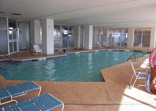 Resort Indoor Pool Area