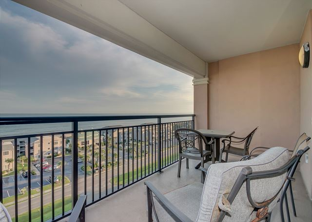 Comfortable Seating On The Ocean View Balcony