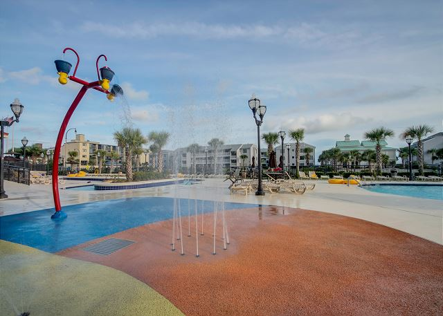 Kiddie Splash Pad