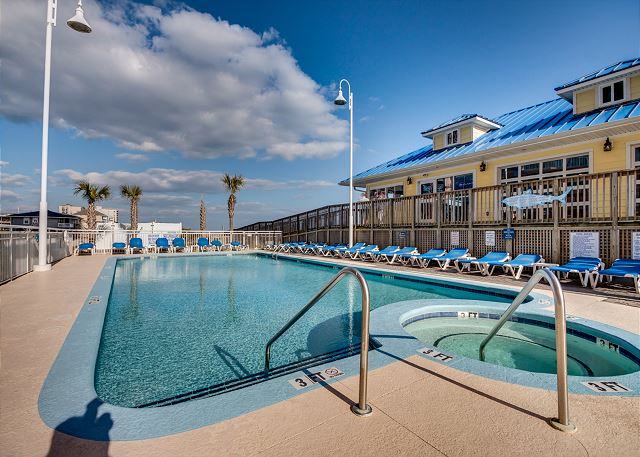 Prince Resort 1109 Oceanfront Cherry Grove Section North Beach Realty