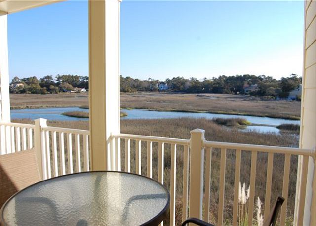 Balcony w/view of Marsh