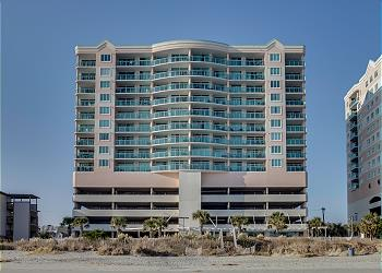 Crescent Keys 707 - Oceanfront - Crescent Beach Section, a Vacation Rental in Myrtle Beach