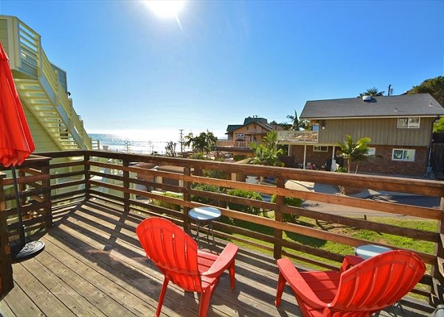 Soak up fantastic ocean views from the main deck!