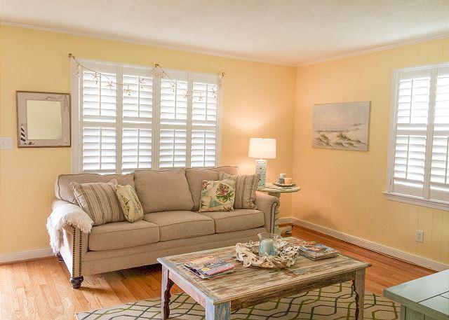 Sunny J II | 2nd Row Beach Access. Grab the beach towel and head down to the beach. Your coastal cottage awaits!