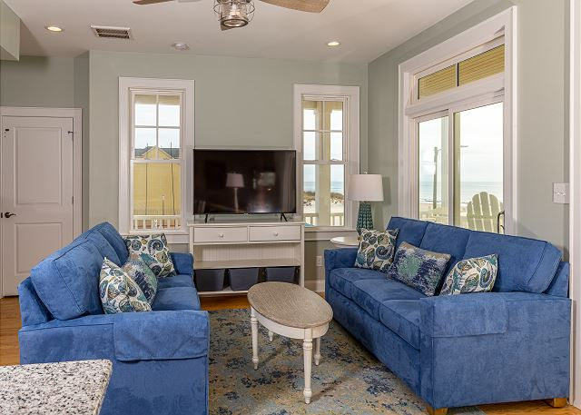 Brand new Oceanfront with spacious living area