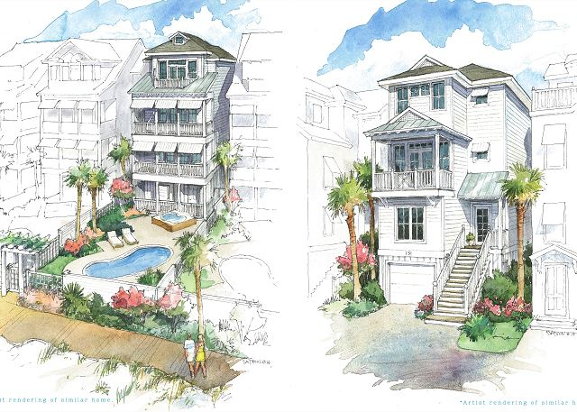 103 The Grove Oceanside | Live your vacation in the lap of luxury! Private heated pool awaits!
