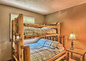 Third Bedroom with Captains Bunk Bed