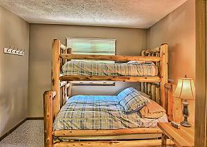 Another View of the Third Bedroom with Captains Bunk Bed.
