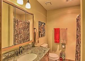 Second Bathroom off Living Room