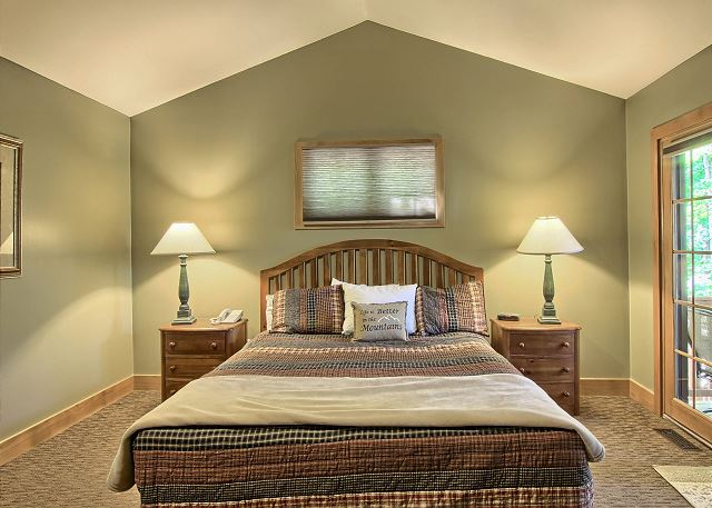 view of master bedroom