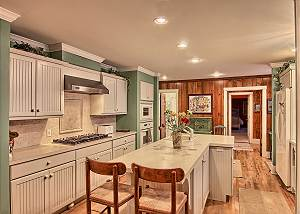 additional view of the kitchen area