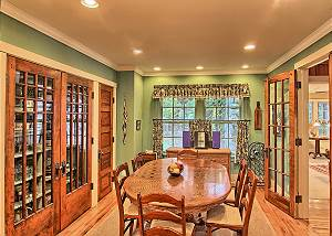 additional view of the dining room