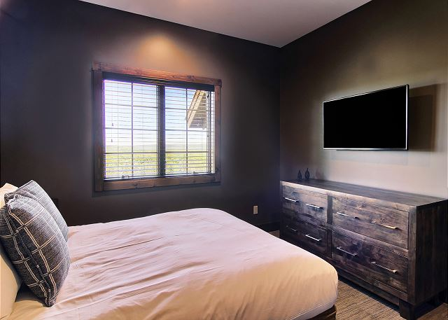 Third Bedroom with Queen Bed Located on Upper Level