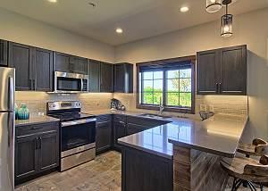Spacious Kitchen with Stainless Appliances