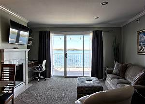 Beautiful View of Lake Charlevoix from the Living Room