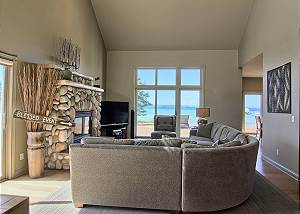 living room as you walk into the house
