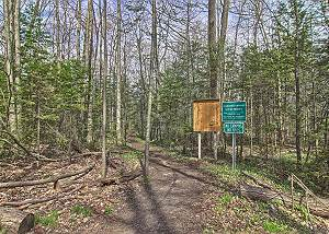 Hiking Trails Throughout Mt. McSauba - Located Across the Street from this Great House