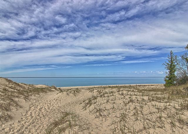 Beautiful Sand Dunes at Mt. McSauba