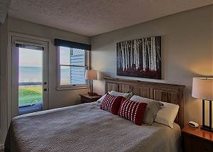 Make yourself at home and wake up to a view of Lake Michigan