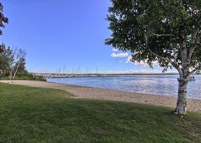 Enjoy Ferry Beach just a short walk away!