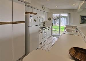 Nice sized galley kitchen