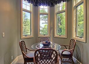 dining area in guest house
