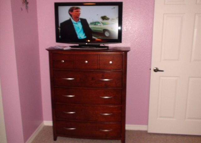 TV on fourth bedroom