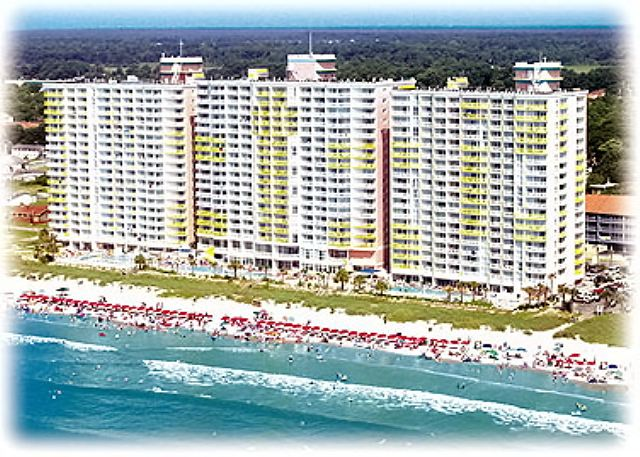 North Myrtle Beach Sc United States Bw510 Baywatch Towers 510 Ocean Breeze Vacations