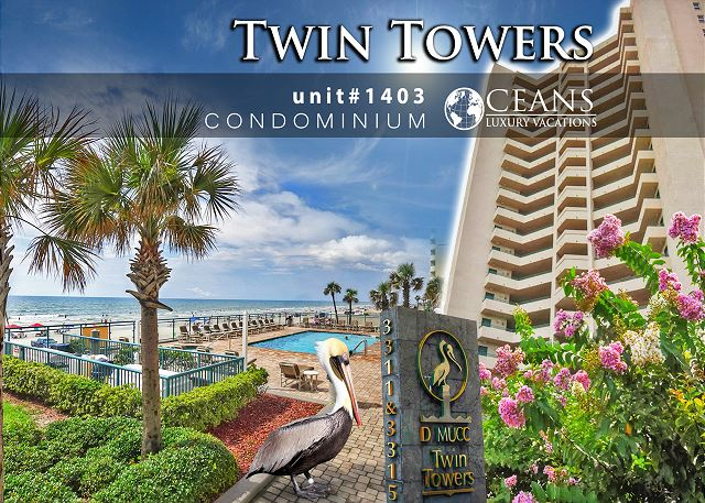 Twin Towers Condo #1403