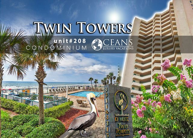 Twin Towers Condo #208