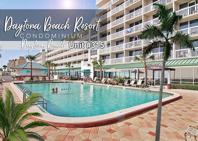 Daytona Beach Resort Condo #315