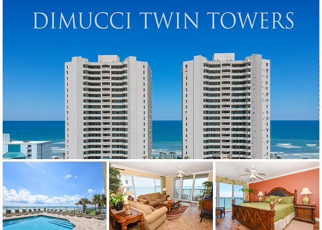 Twin Towers Condo #1405
