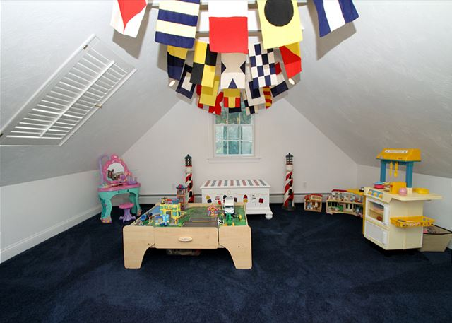 Playroom Accessed From Bunkroom