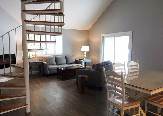 Newly renovated living space