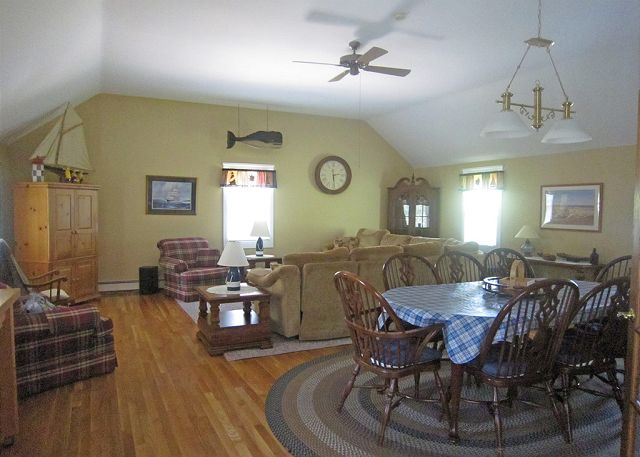 Large Open Family/ Dining Area