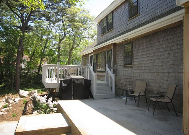 Patio off of deck