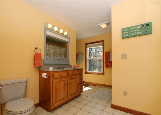 Different view of First floor bathroom
