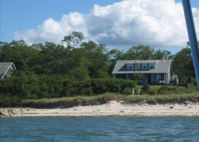 Steps to your own private bay beach
