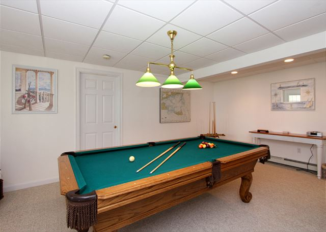 Lower Level Billiard Room