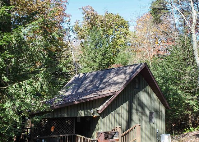 The Falls Cabin Hocking Hills Cabins Old Man S Cave