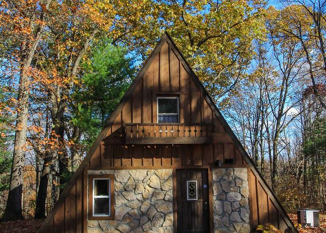 A-Frame #17 - Nature Lovers Hideaway - Hocking Hills