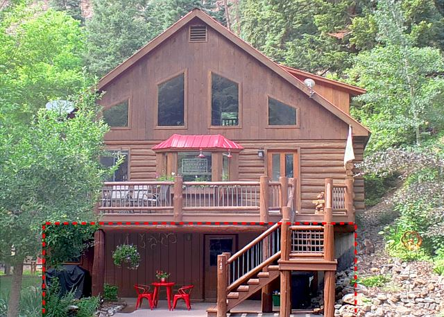 Cozy Log Home Suite - Close to Downtown Ouray