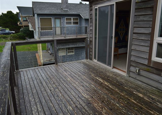 North Deck, Access from Living Room
