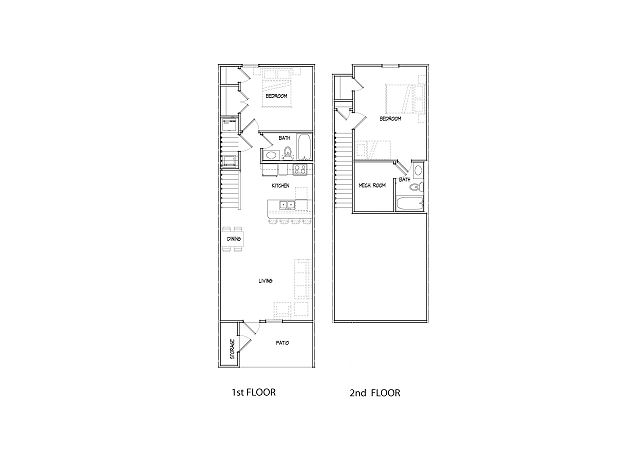 Builder's floor plan, some details might be different but overall it's the same floor plan